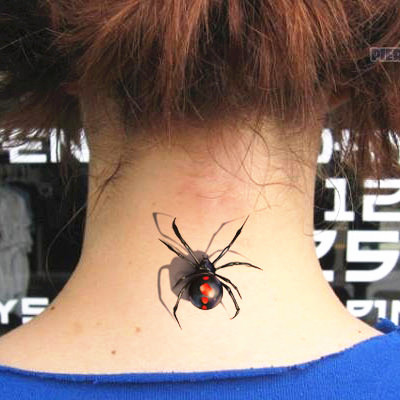 18 spider tattoo art design gallery