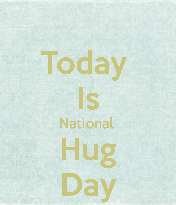 Today Is National Hug Day Wishes Picture
