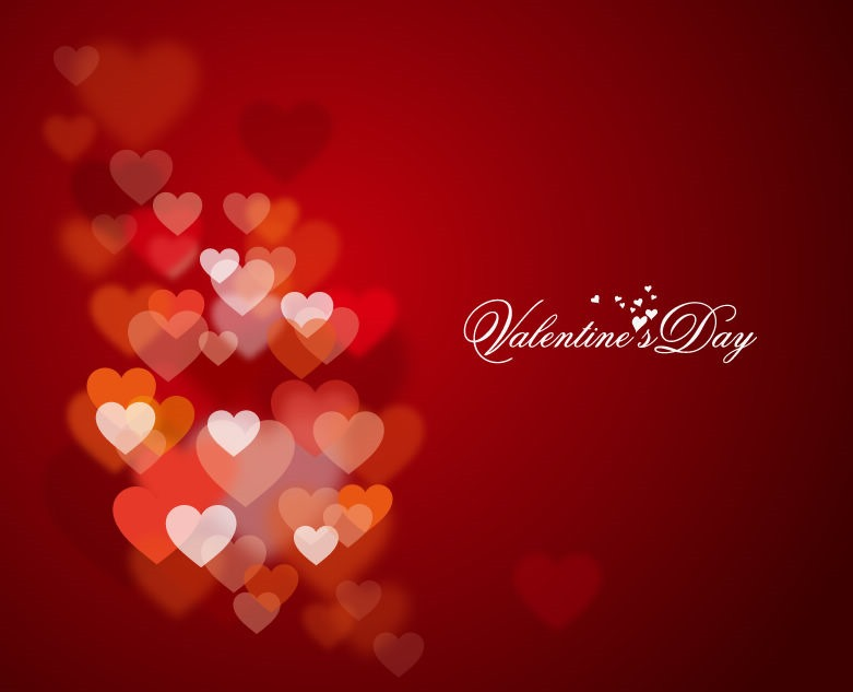 Valentines Day Beautiful Hearts Picture .