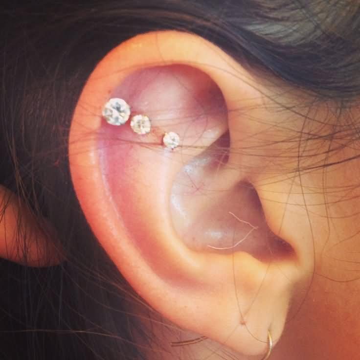 37+ Cartilage Piercing For Girls