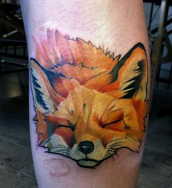 21 Impressive Fox Tattoo Designs, Pictures And Images Ideas