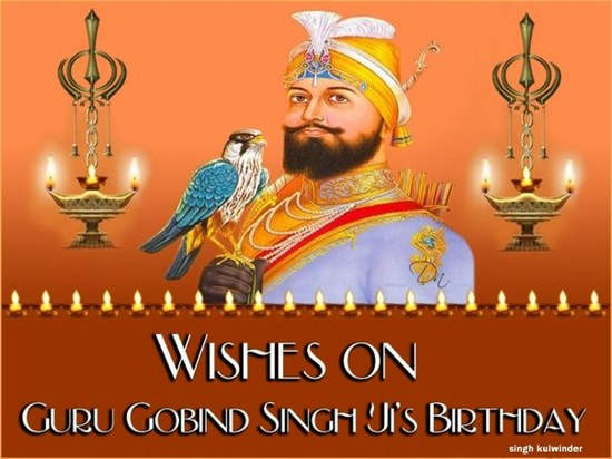 Wishes On Guru Gobind Singh Ji's Birthday