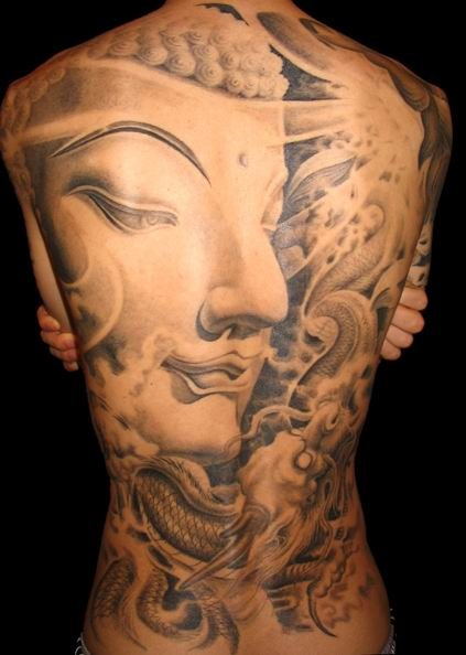 22 buddhist tattoo designs images and ideas. Black Bedroom Furniture Sets. Home Design Ideas