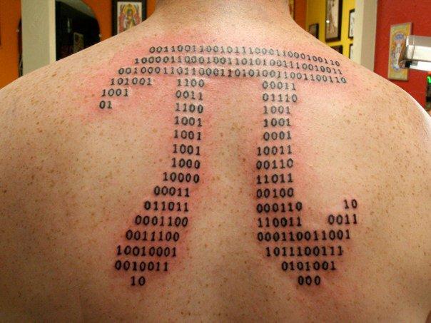 3 Pi Tattoo Samples And Design Ideas