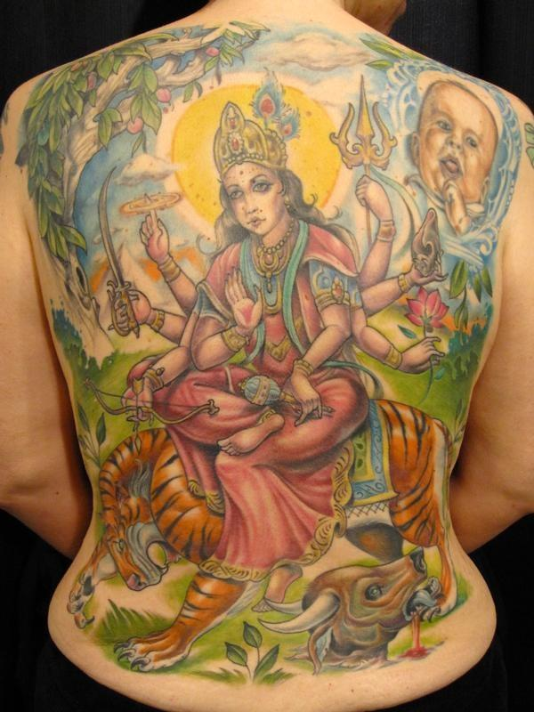 17 hinduism tattoo images designs and pictures. Black Bedroom Furniture Sets. Home Design Ideas