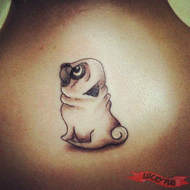 34 awesome pug tattoo images and pictures