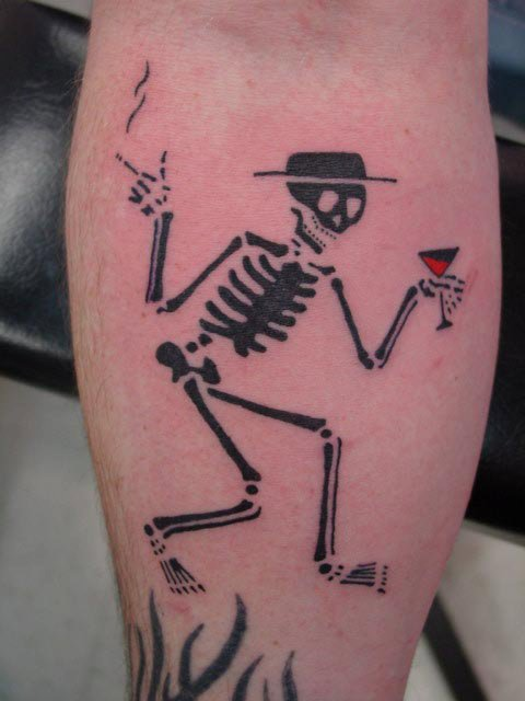 Funny photos: Skull tattoo designs Photos |Funny Skull Designs