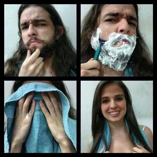 Фото девушки бреются 55805 фотография