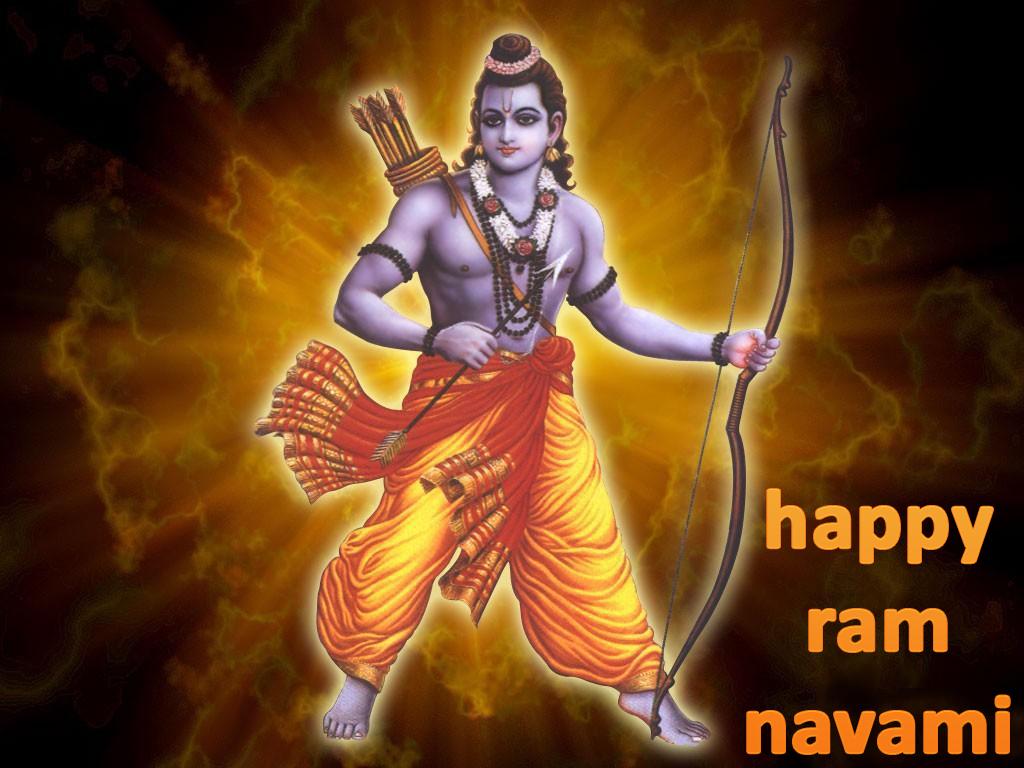 Happy Ram Navami Greetings Image