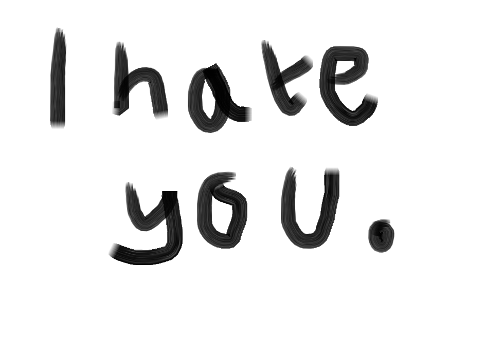 I Hate You Picture