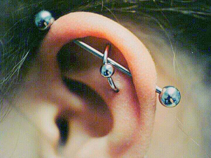 Industrial And Orbital Piercings