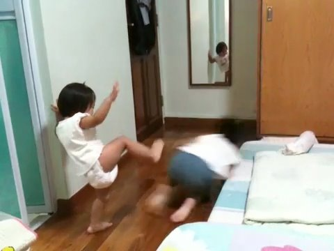 Why do girls kick guys in the balls