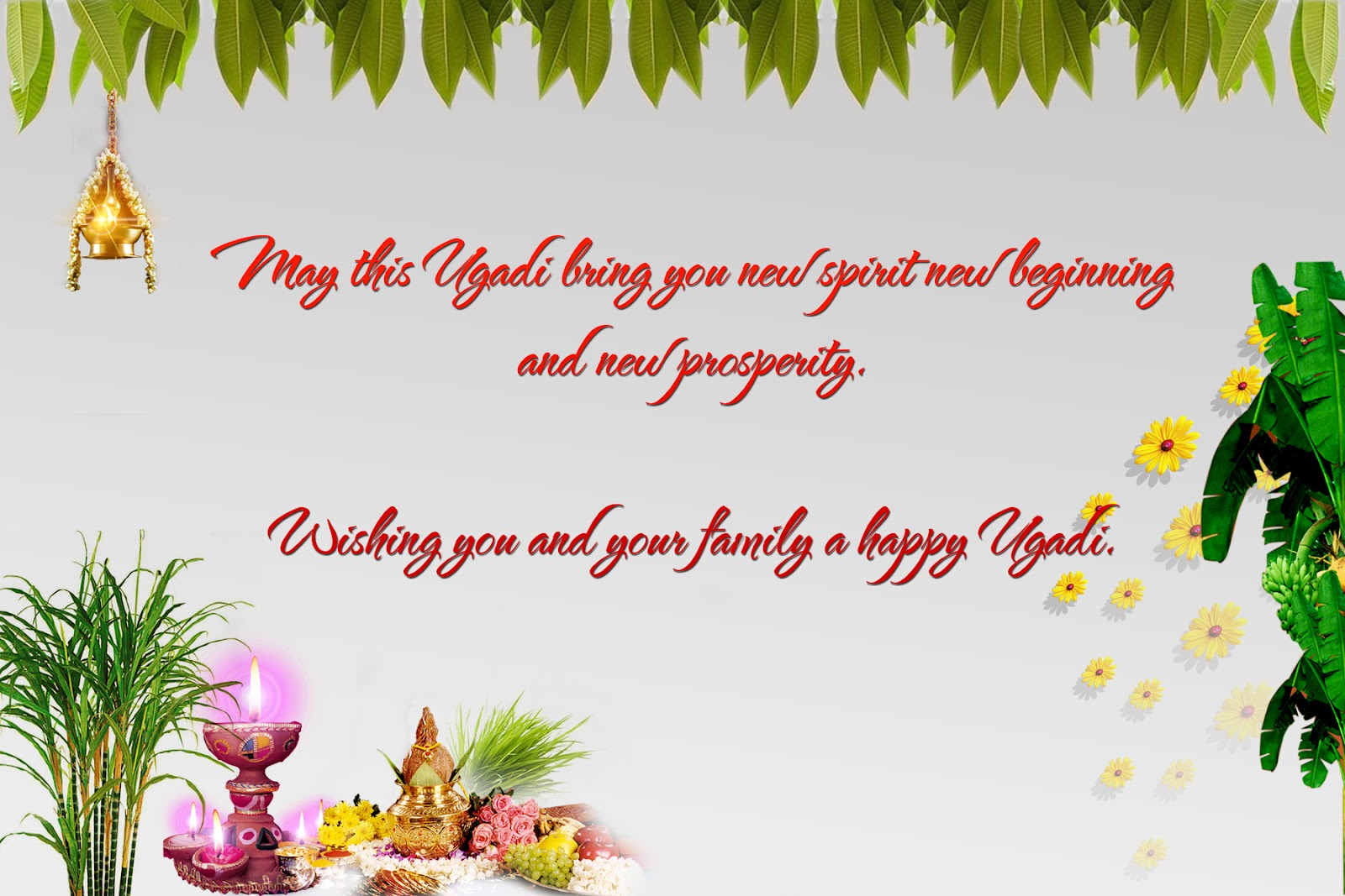 Wishing you and your family a happy ugadi m4hsunfo