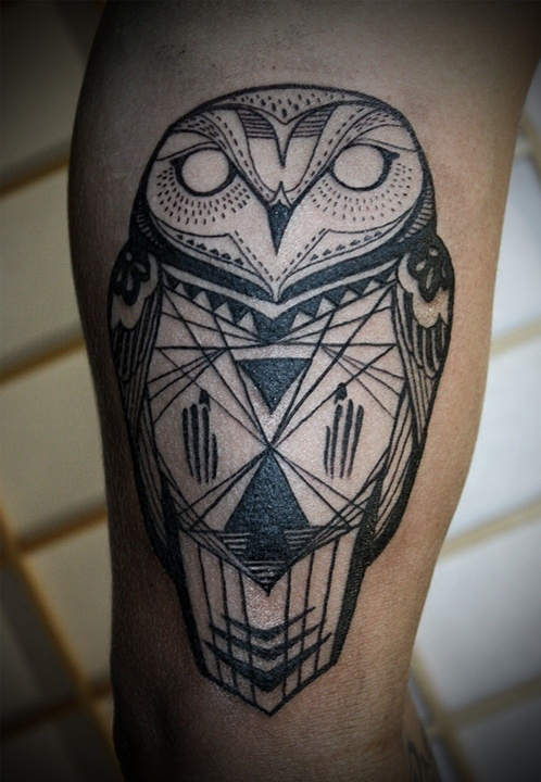 25 awesome geometric tattoo art images gallery