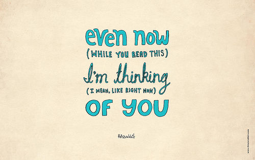 Even Now Im Thinking Of You