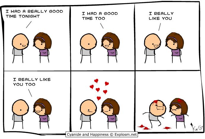 Funny Love Comics Picture