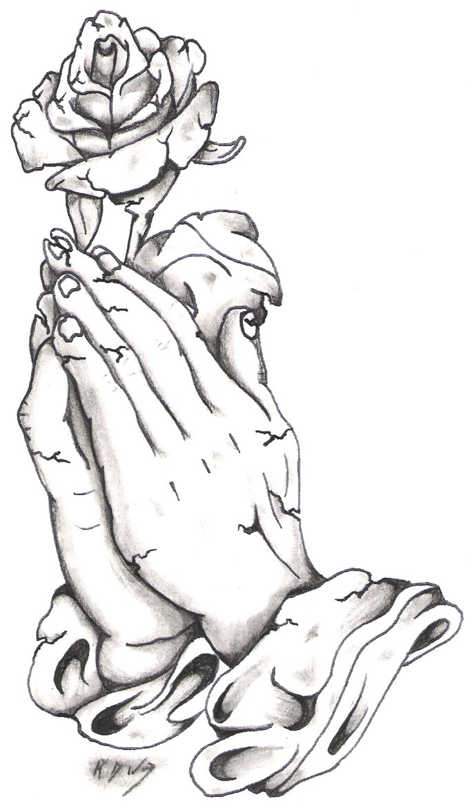 18 praying hands tattoo arts designs and images