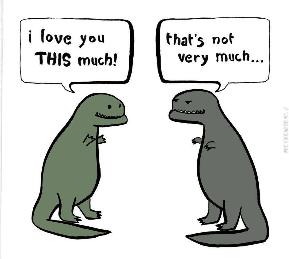 I Love You This Much Funny Love Picture