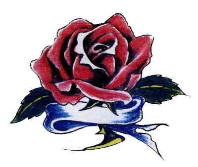 4 Latest Red Rose Tattoo Design Ideas And Samples