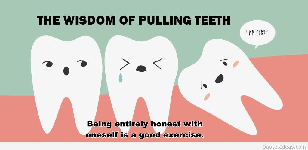 funny teeth quotes