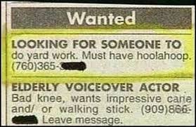 Wanted Funny Newspaper