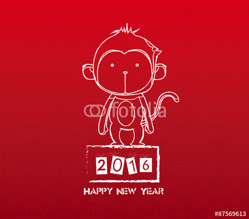 2016 happy new year greetings picture - When Is Chinese New Year 2016