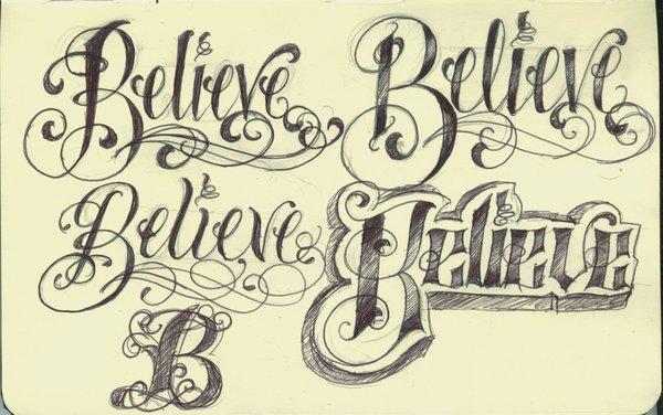 6 Fantastic Lettering Tattoo Design Ideas