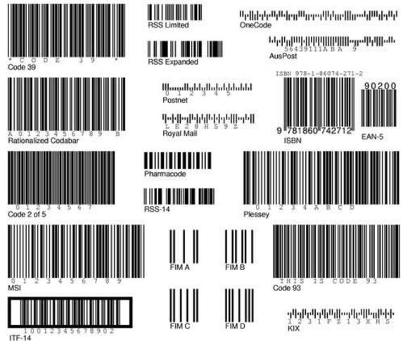 6 barcode tattoo designs samples and ideas. Black Bedroom Furniture Sets. Home Design Ideas