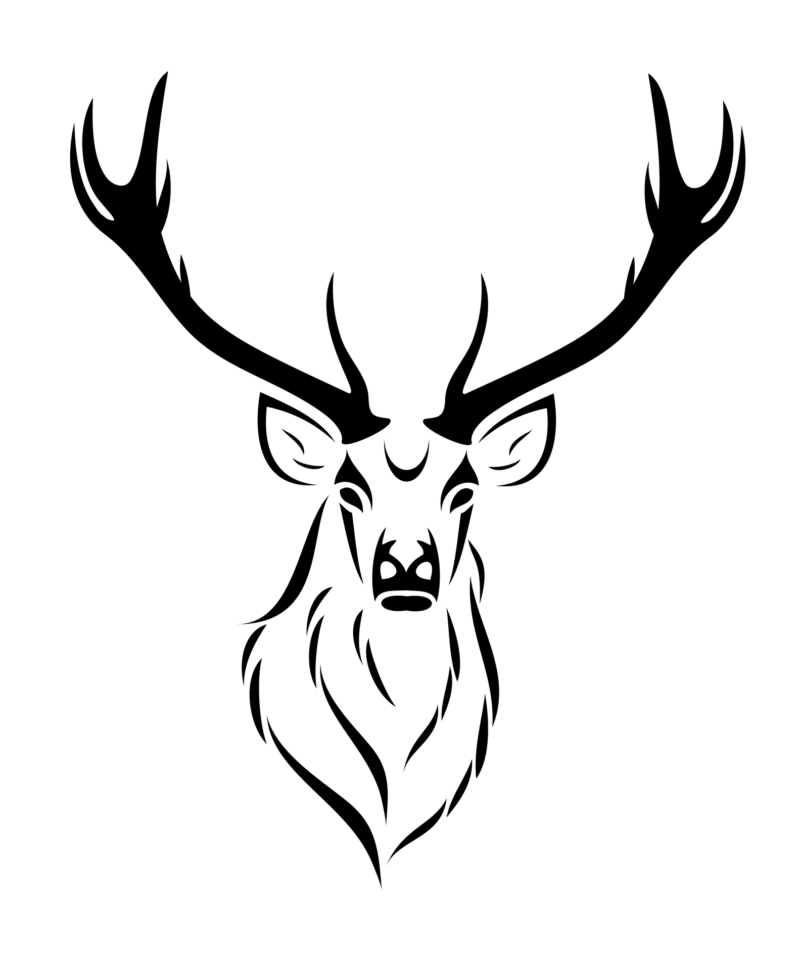 15 nice deer tattoo design ideas rh askideas com Deer Antler Tattoos for Men Deer Skull Tattoos