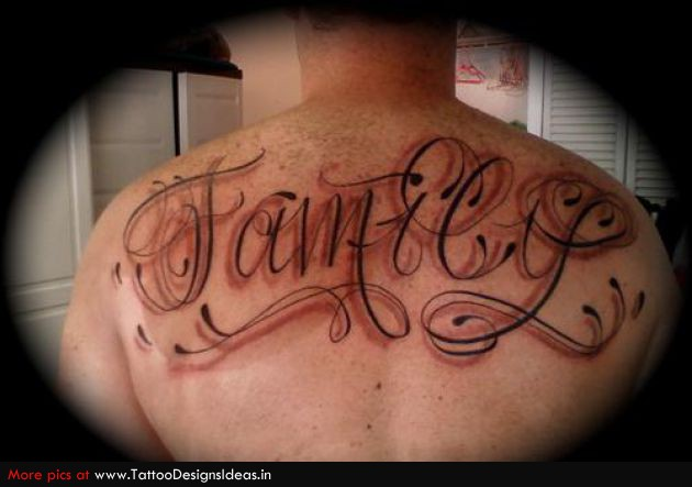 e60f0d22c 22+ Lettering Tattoo Images, Pictures And Design Ideas