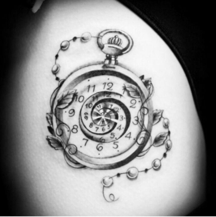 19 Pocket Watch Tattoo Images Pictures And Ideas