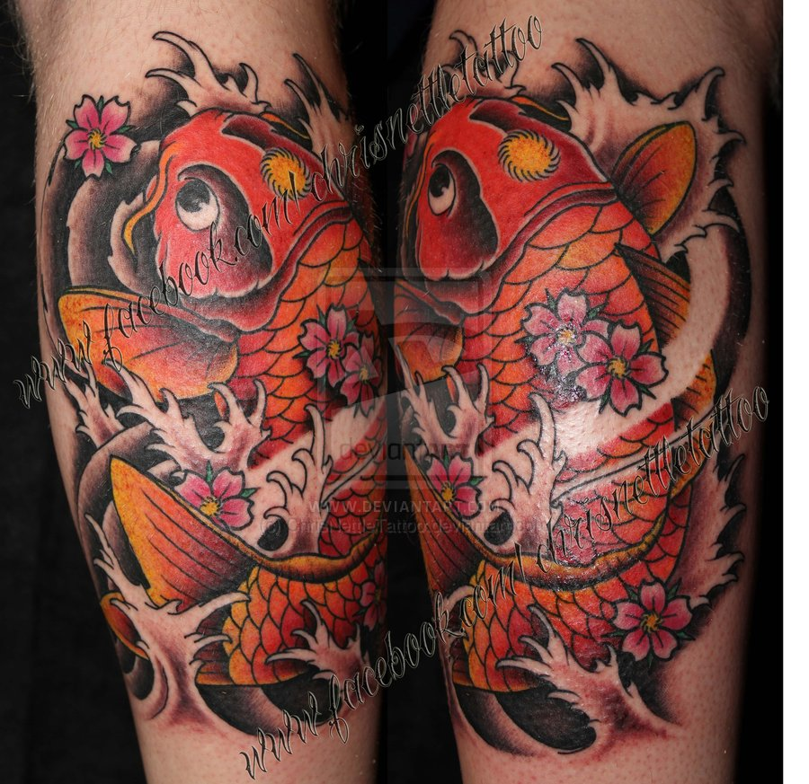 26 Wonderful Calf Tattoo Images Pictures And Ideas