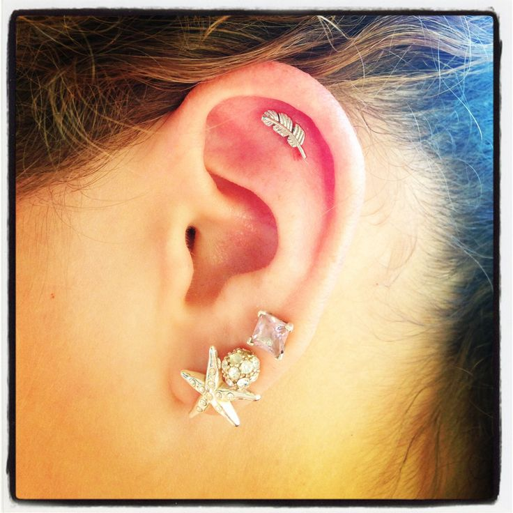 d63f834080f4c 25 Feather Piercing Pictures And Images