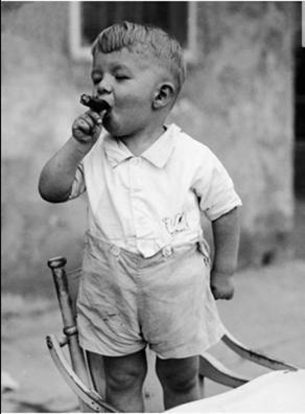 Cute Baby Smoking Funny Picture