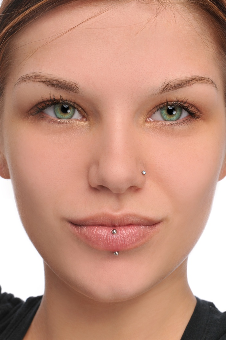 14 latest face piercing images and pictures