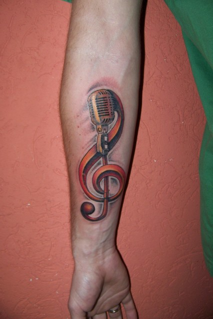 Imagenes Tatuajes Violin 26 cool violin key tattoo images, pictures and ideas