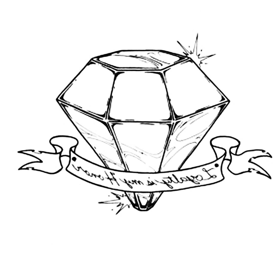 8 Nice Diamond Tattoo Design Ideas