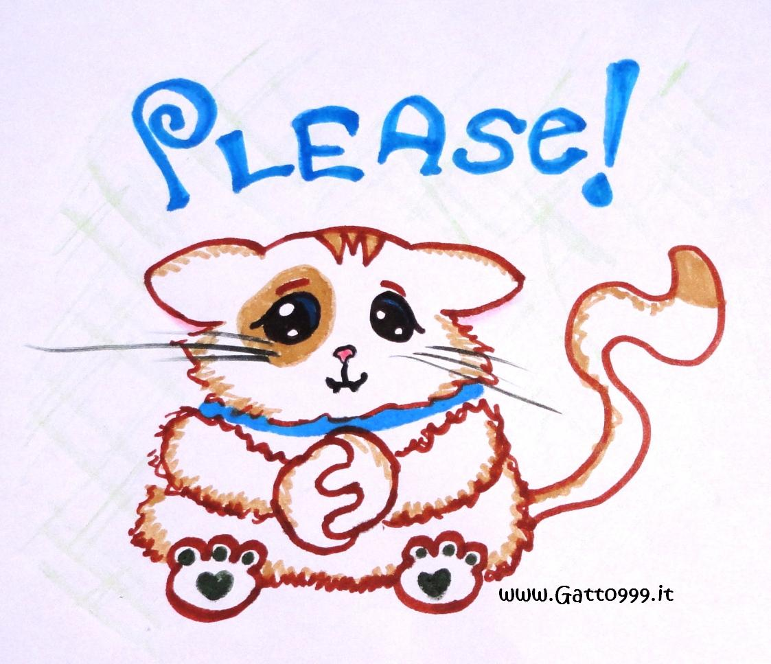 cat says please drawing thank you clip art funny involving nursing Pictures That Say Thank You