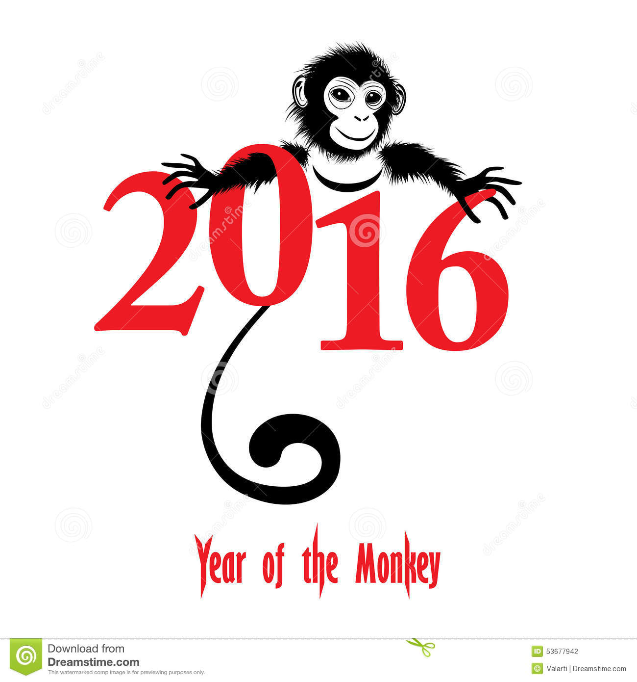 Chinese New Year 2016 Year Of The Monkey