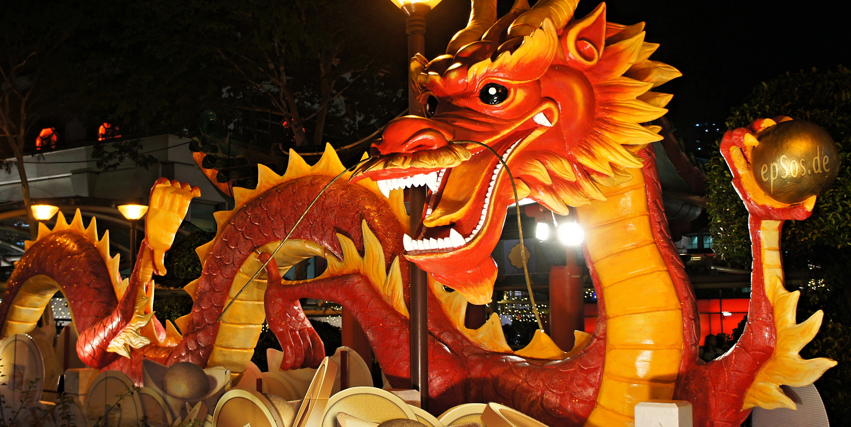 chinese new year dragon picture - The Chinese New Year