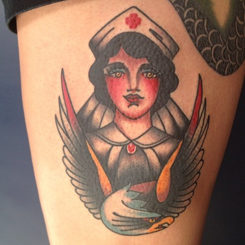 20 Nurse Tattoo Images, Pictures And Inspirational Ideas