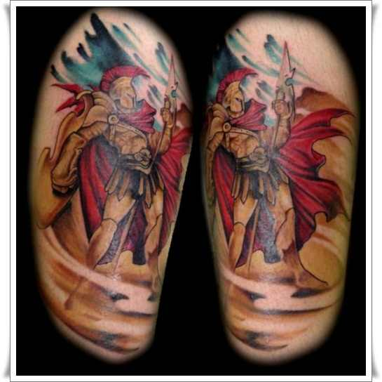 11 Nice Warrior Tattoo Images And Picture Ideas