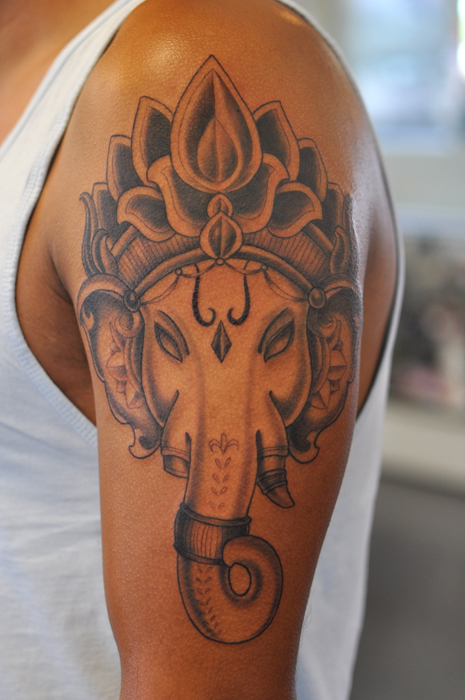 14 Religious Lord Ganesha Tattoo Images, Pictures And Ideas  14 Religious Lo...