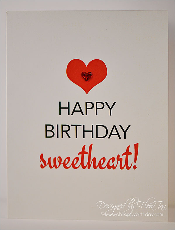Happy Birthday Sweetheart Picture For Facebook