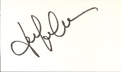 Jennifer Garner Signature