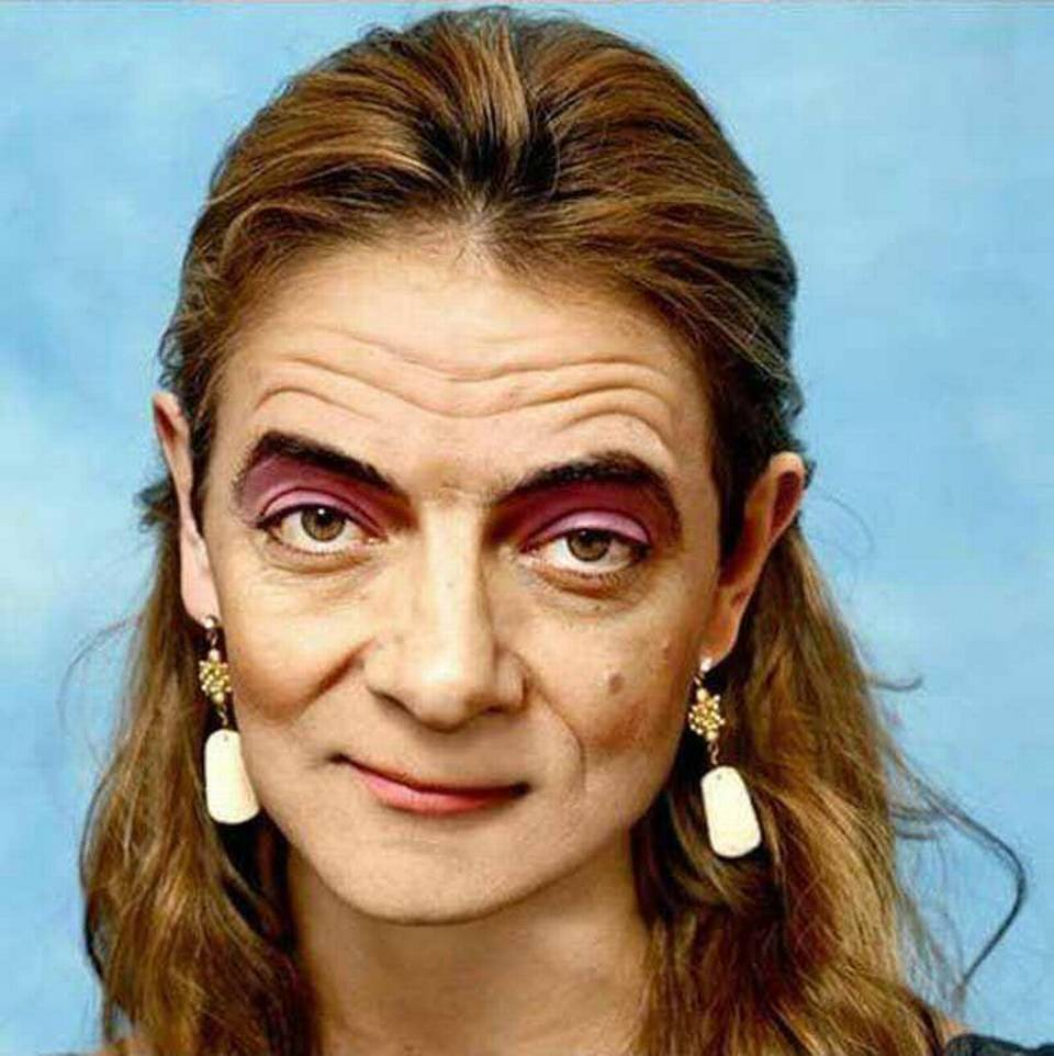 Are not funny old women ugly face not