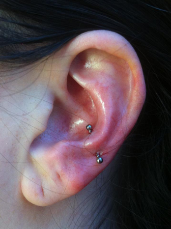 8 Beautiful Tragus Piercing Pictures, Images And Ideas Ear Piercings Anti Tragus