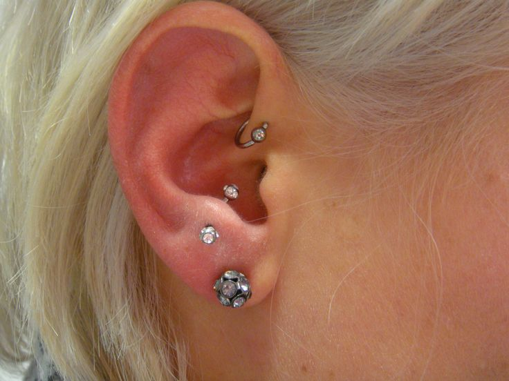 8 beautiful tragus piercing pictures images and ideas. Black Bedroom Furniture Sets. Home Design Ideas