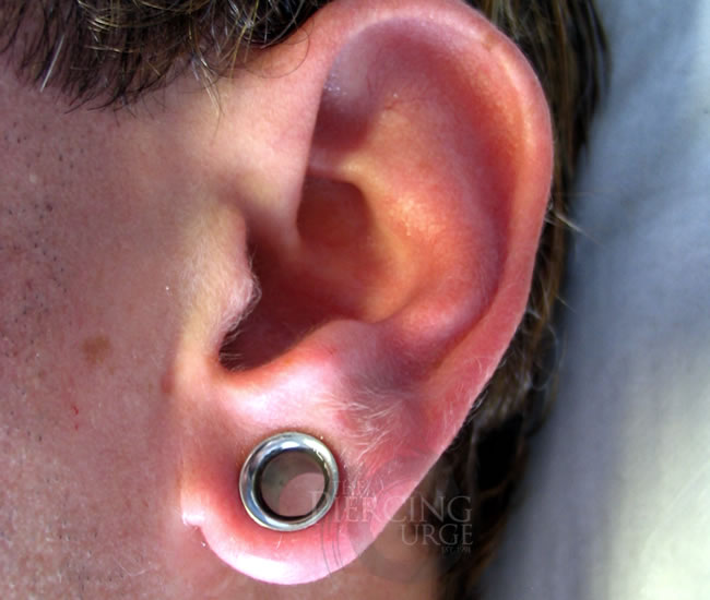 Awesome ear stretching pictures and images for men