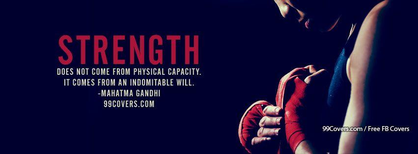 strength facebook cover photo